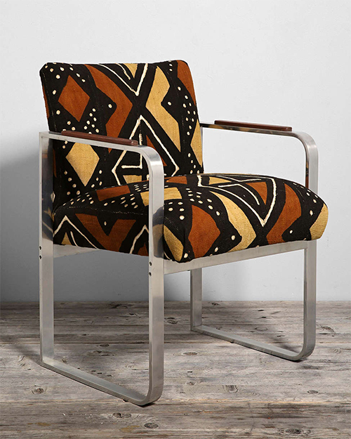 Urban Outfitters Mudcloth and Mod Chair