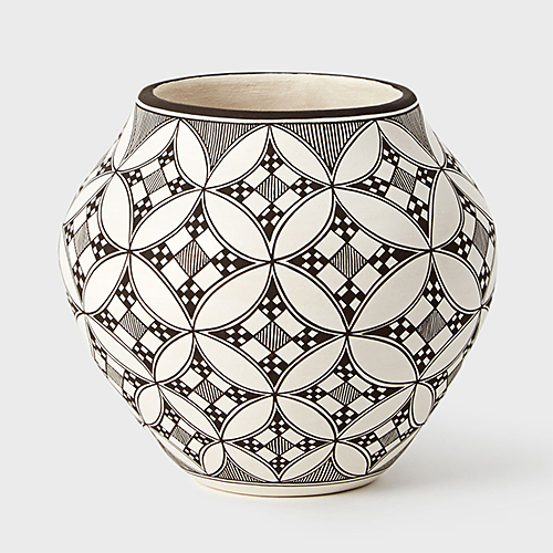 A Lucario Acoma Pot at DARA Artisans
