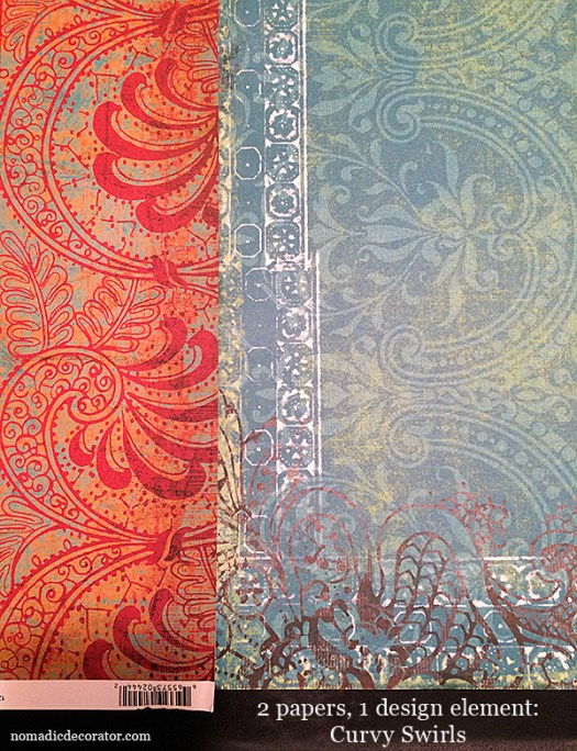 Matching Scrapbook Papers
