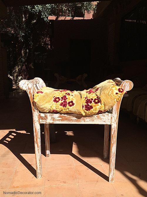 Boho Bench Morocco