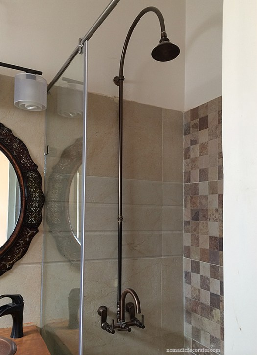 India Oil Rubbed Bronze Shower System