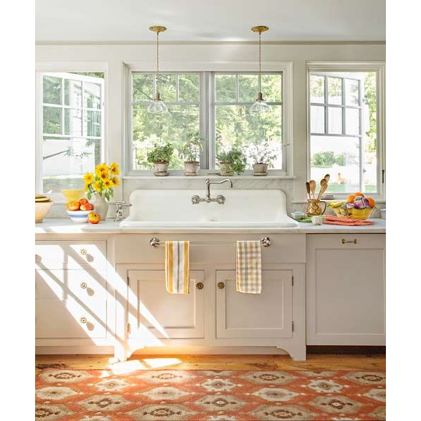 Delightful Rug In Kitchen Via This Old House