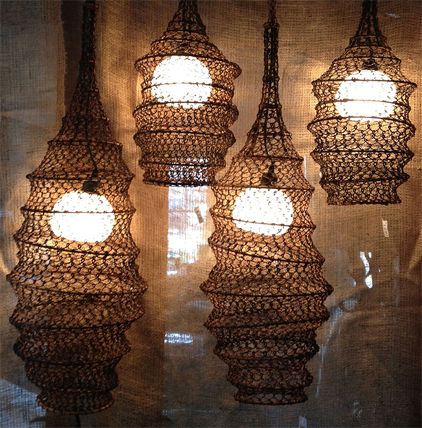 Global Style Fish Trap Pendant Lights Nomadic Decorator