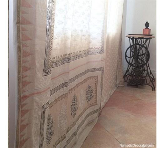 Silk Saree Curtain