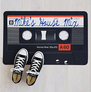 80x Mix Tape Doormat
