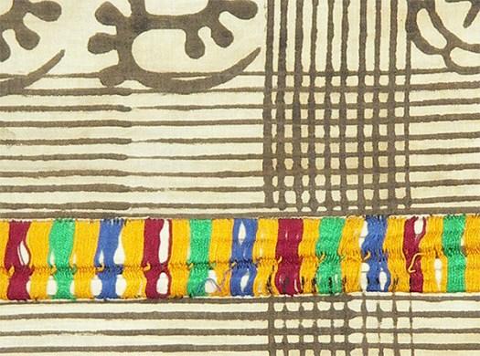 Adrinka Cloth Closeup from Hamill Gallery