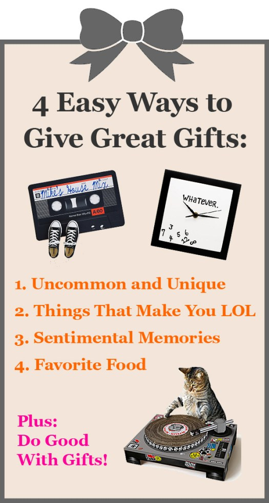How to Give Great Gifts