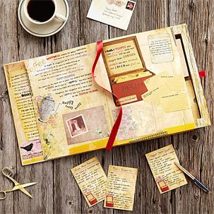 Mother Daughter Book Letter Set