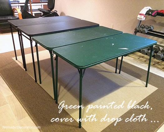 Paint Folding Tables