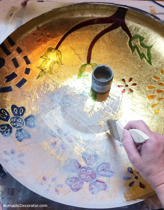 Repainting a Tray