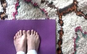 ben ourain yoga mat