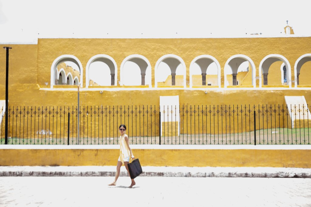 Explore in Izamal, Mexico