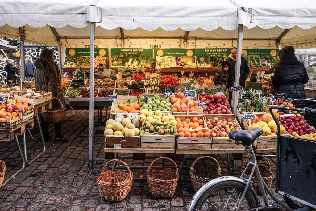 Copenhagen Torvehallerne Market