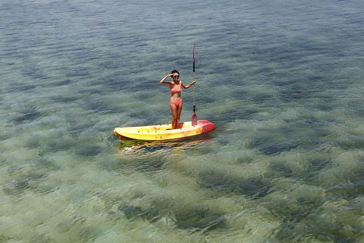sepanggar island kayaking