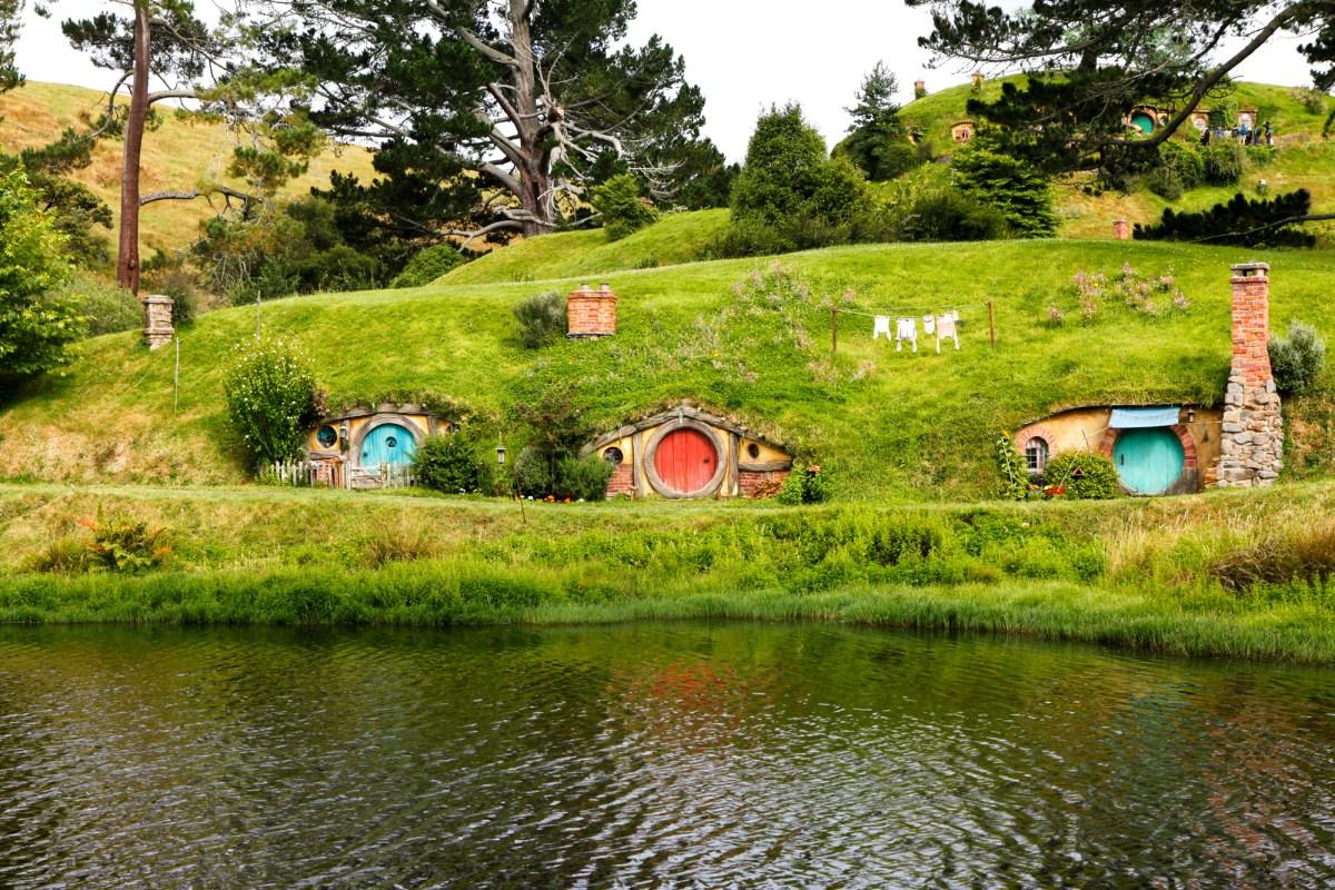 Nomadic Fare at Hobbiton Movie Set, New Zealand