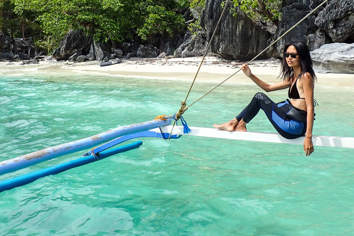 Turtle Divers and Nomadic Fare, El Nido, Palawan, Philippines