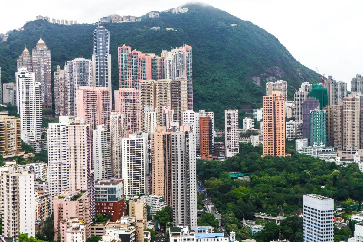 View from Island Shangri-La, Hong Kong