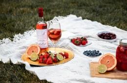 Summer rose sangria picnic with Dry Creek Vineyard