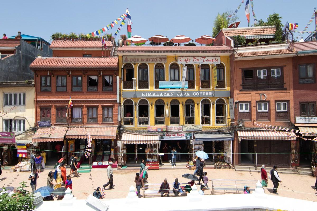 Boudha Stupa in Kathmandu, Nepal
