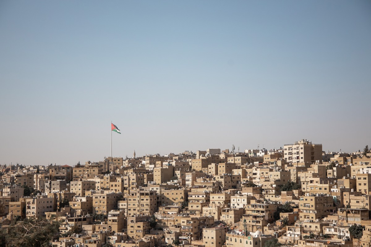 View of Amman, Jordan