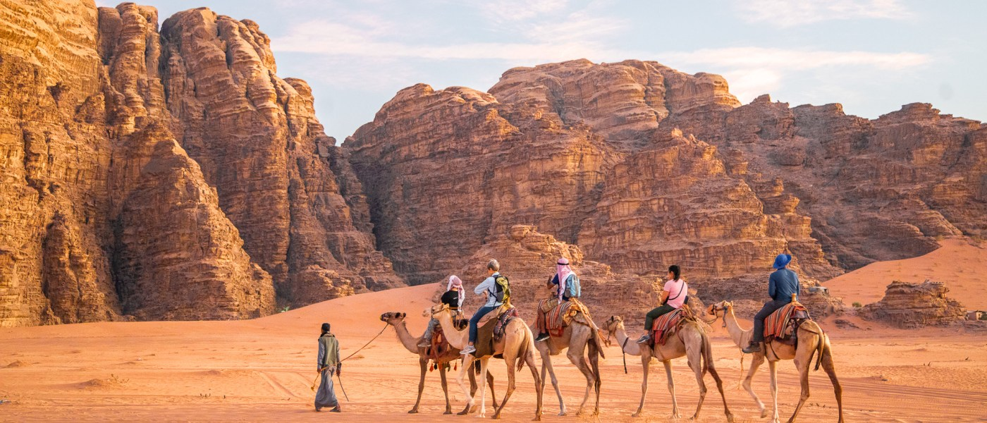 Camel Ride in Wadi Rum, Jordan