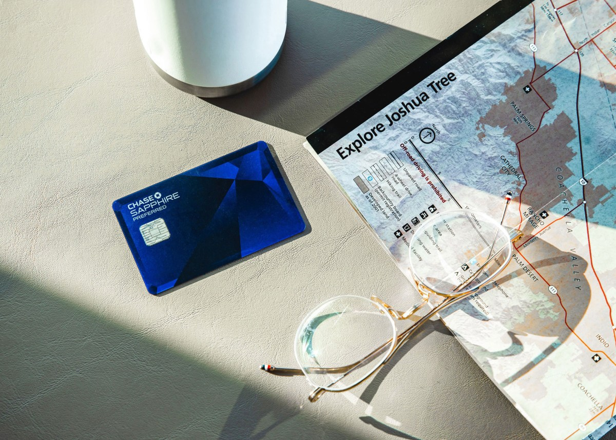 Nomadic Fare in Palm Springs with Chase Sapphire Preferred® Credit Card
