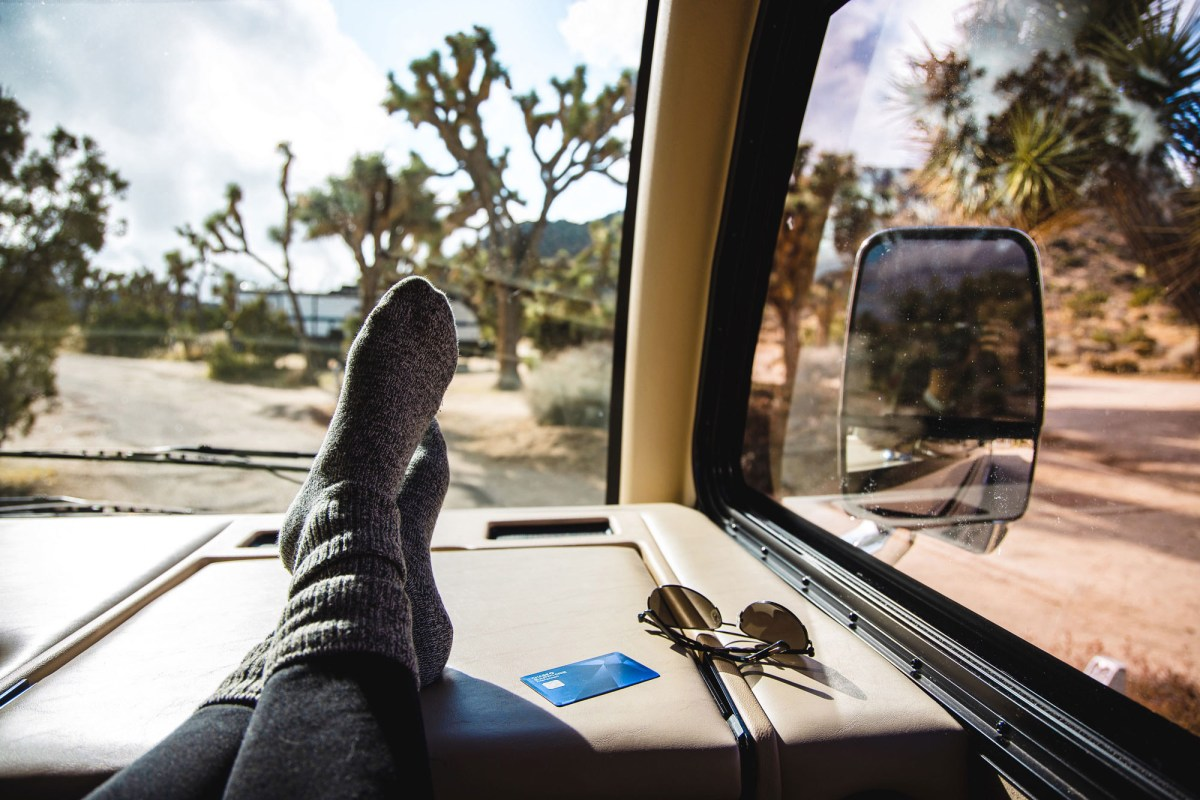 Nomadic Fare in Joshua Tree with Chase Sapphire Preferred® Credit Card