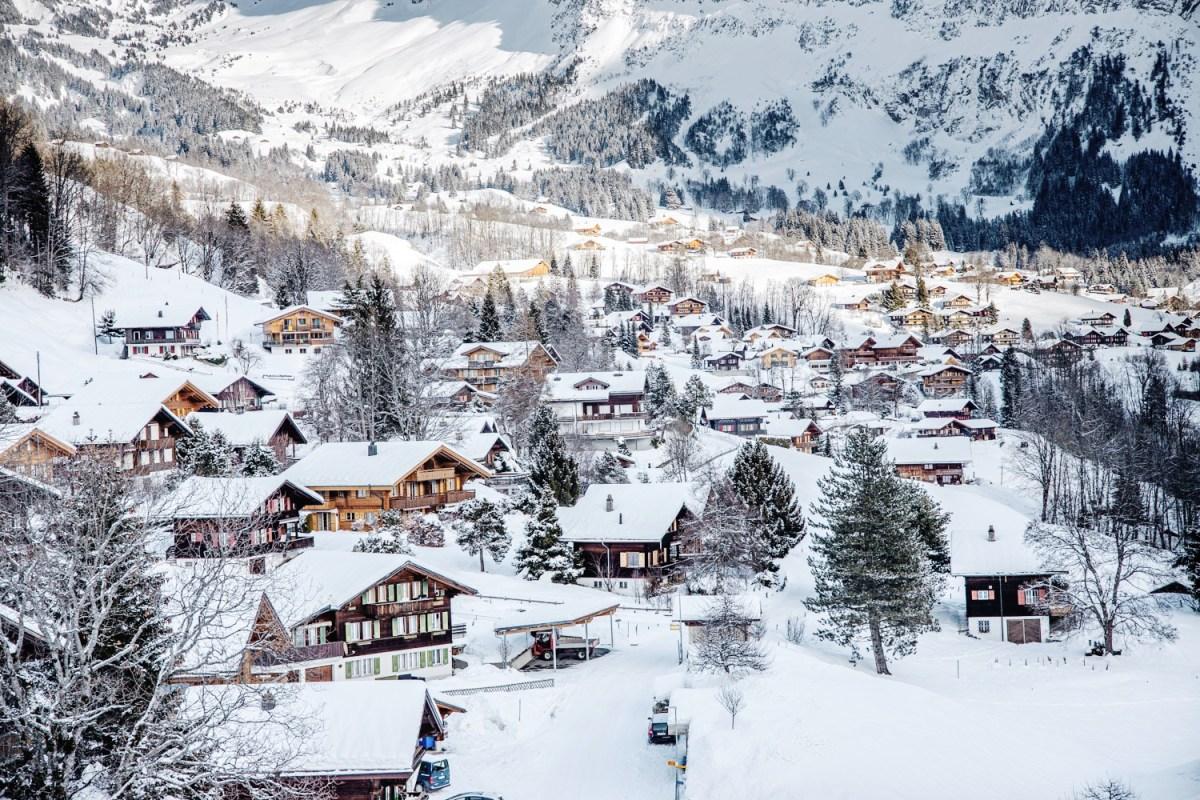 Grindewald chalets Switzerland