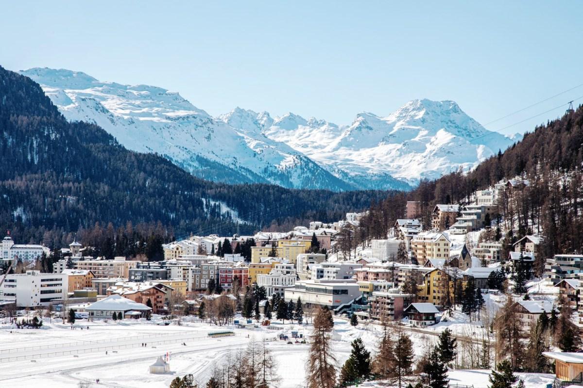 Badrutt's Palace in St. Moritz