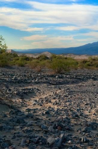 Distant Mesquite Flat Sand Dunes