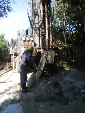 Drilling to 60m