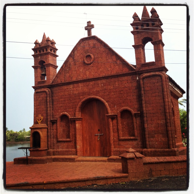 Redstone Chapel in Saligao I fell in love with...
