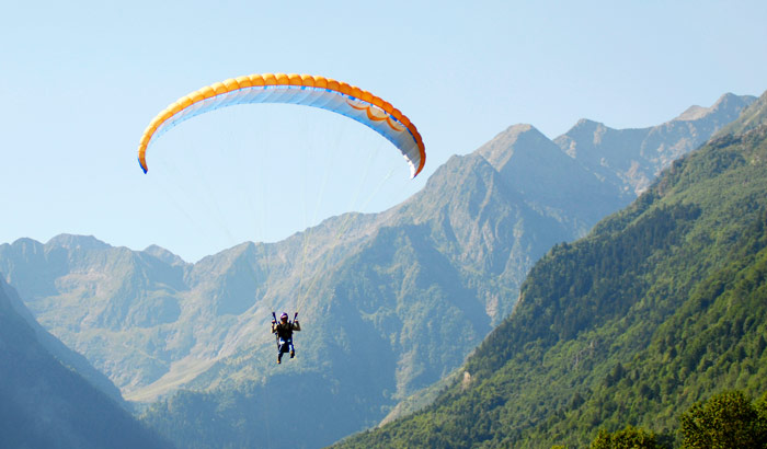Paraglide in Dharamsala