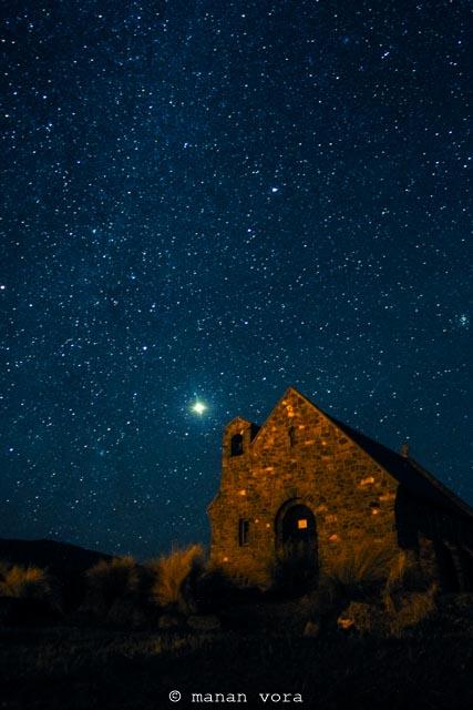 starry gazing, tekapo