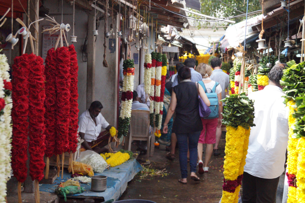 The Flower Markets of Pondicherry