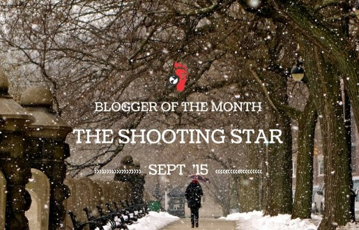 Blogger Of The Month – The Shooting Star