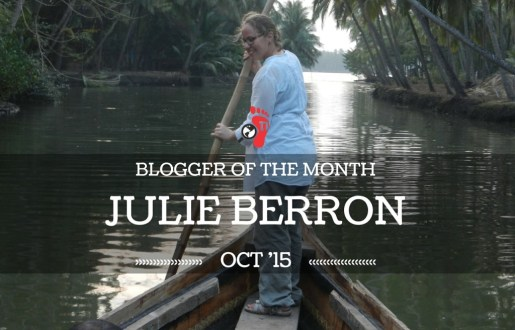 Blogger of the Month – Julie Berron