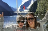 Blogger of the Month – The Freedom Travellers