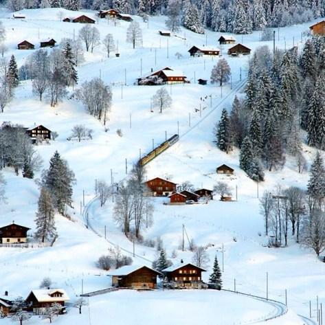 Switzerland, Aussie Flashpacker