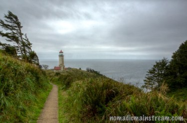 Another lighthouse over the Pacific Ocean