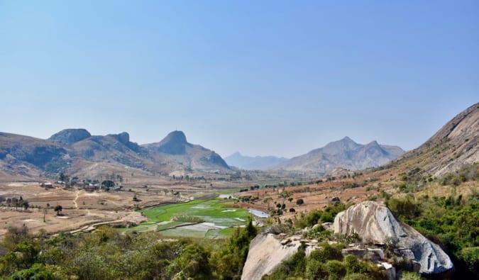A beautiful vista in Madgascar