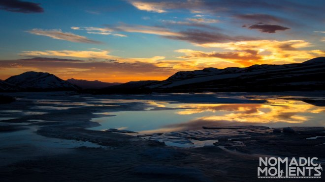 Independence Pass Sunset