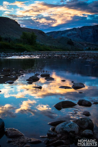 Exploring the Best of Dinosaur National Monument and the Green River at Sunset