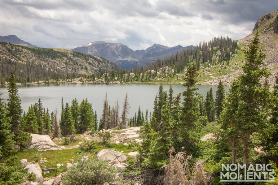 Rocky Mountain National Park's Mirror Lake.