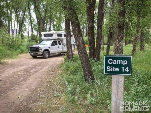 Pioneer Park Campsite 14