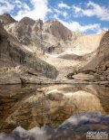 Chasm Lake is often overlooked as onr of the best trails in Rocky Mountain National Park.