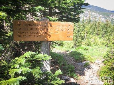 Buchanan Pass and Beaver Creek Trail