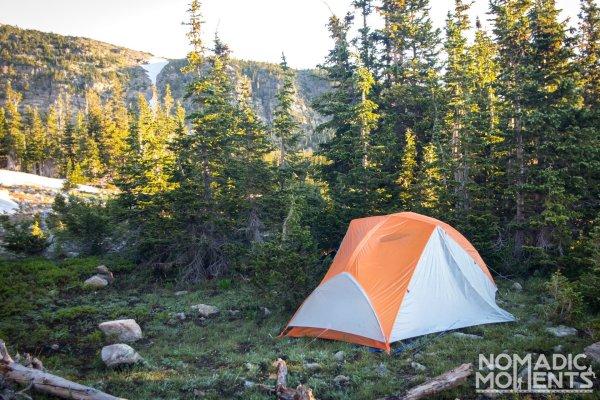Campsite near Buchanan Pass
