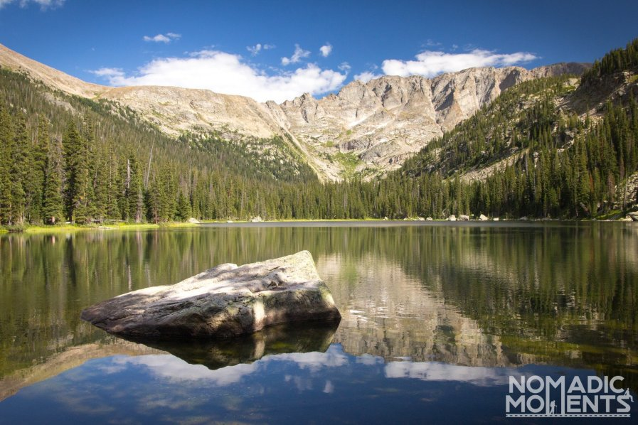 One of the best trails in Rocky Mountain leads to Spirit Lake.