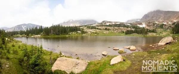 Hiking Lion Lake RMNP